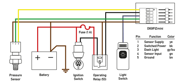Oil Pressure Wiring Diagram